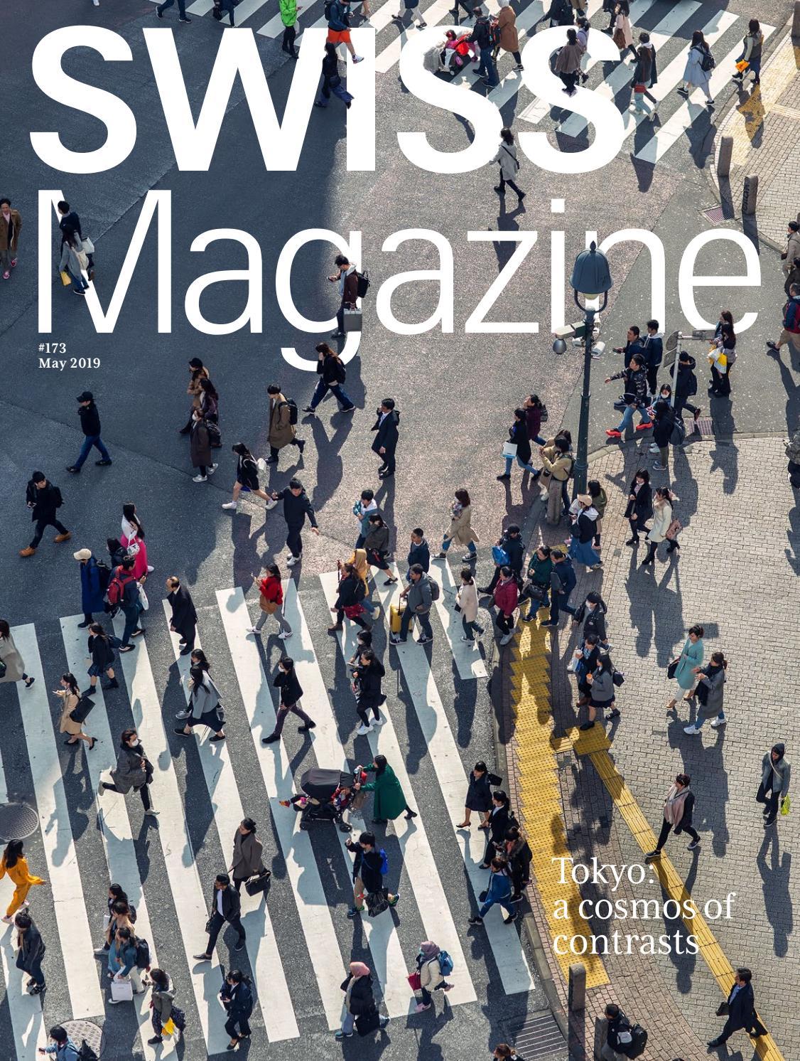 swiss magazine may 2019 tokyo by