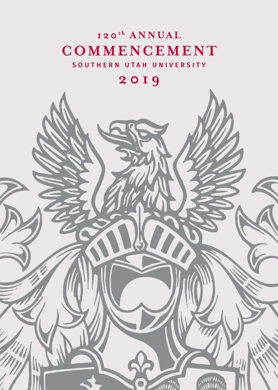 SUU 120th Annual Commencement (2019) by Southern Utah
