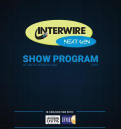 interwire 2019 official show program [ 1114 x 1490 Pixel ]