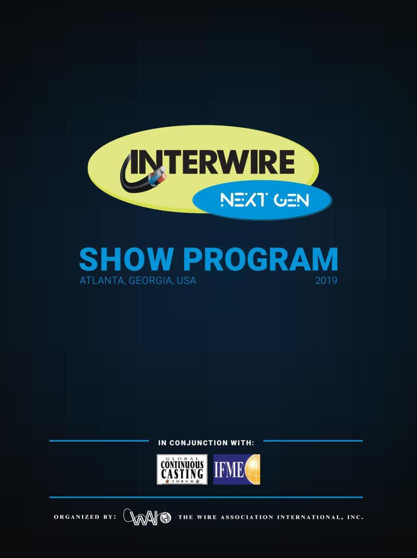 medium resolution of interwire 2019 official show program