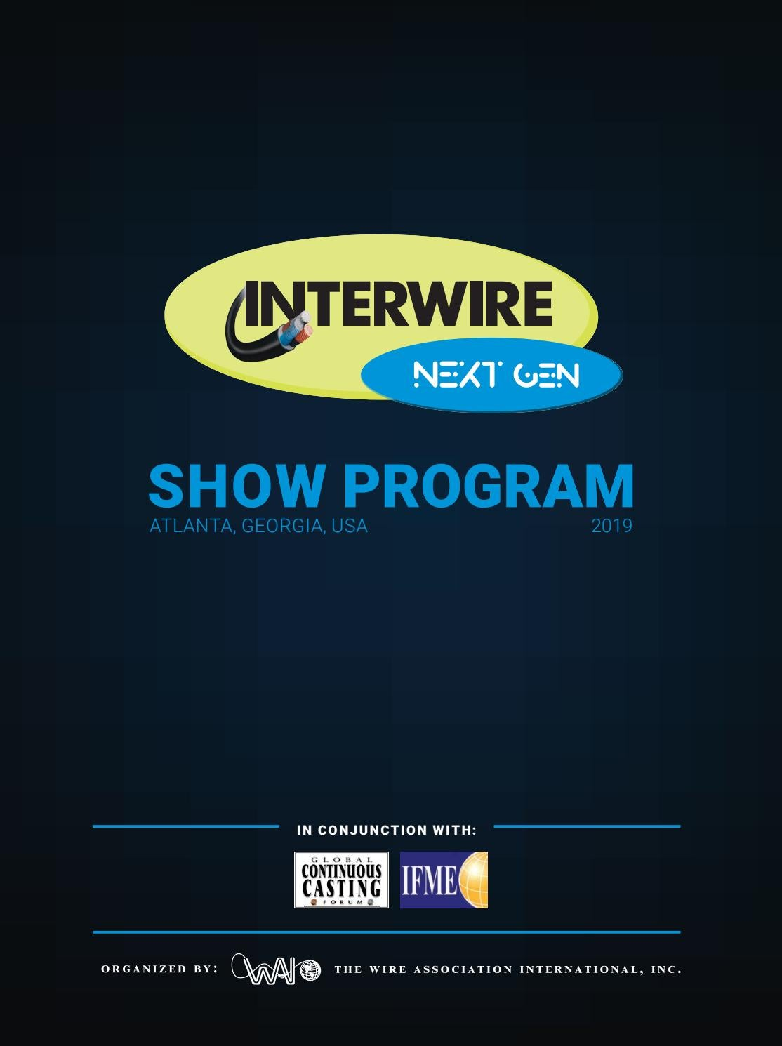 hight resolution of interwire 2019 official show program