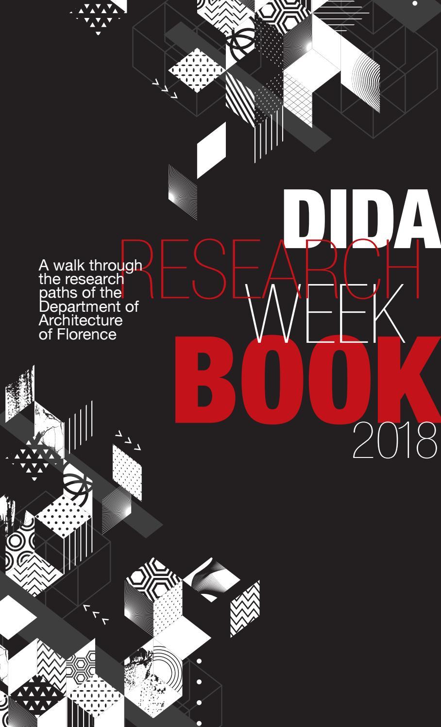 Negli anni '70 lavora a. Dida Research Week Book By Dida Issuu