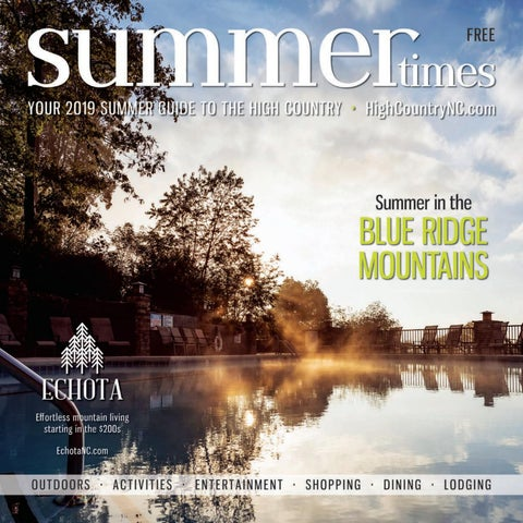 Summer Times 2019 by Mountain Times Publications  Issuu