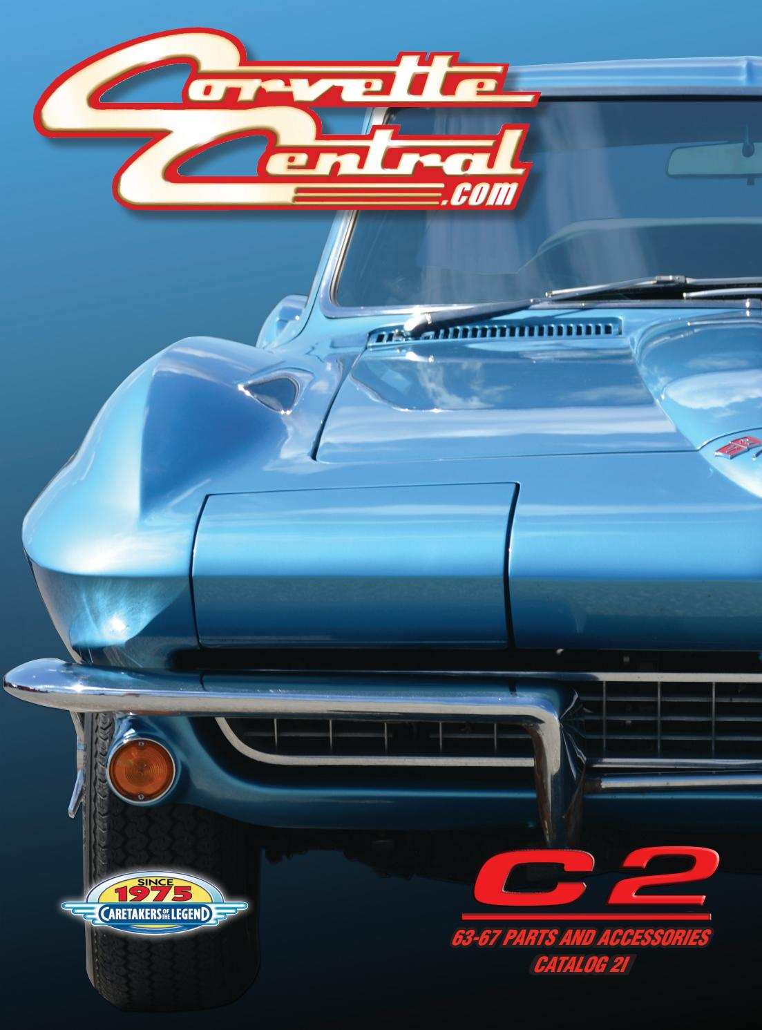 hight resolution of corvette central c2 63 67 corvette parts catalog by corvette central issuu