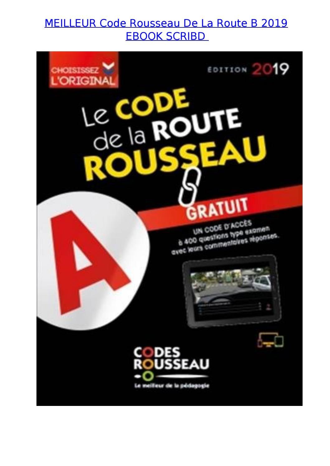 Code De La Route Rousseau : route, rousseau, Meilleur, Rousseau, Route, Ebook, Scribd, Faizal.idrus.7410, Issuu