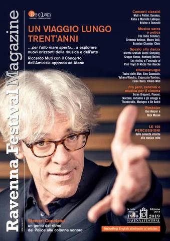 Ravenna Festival Magazine 2019 By Reclam Edizioni E