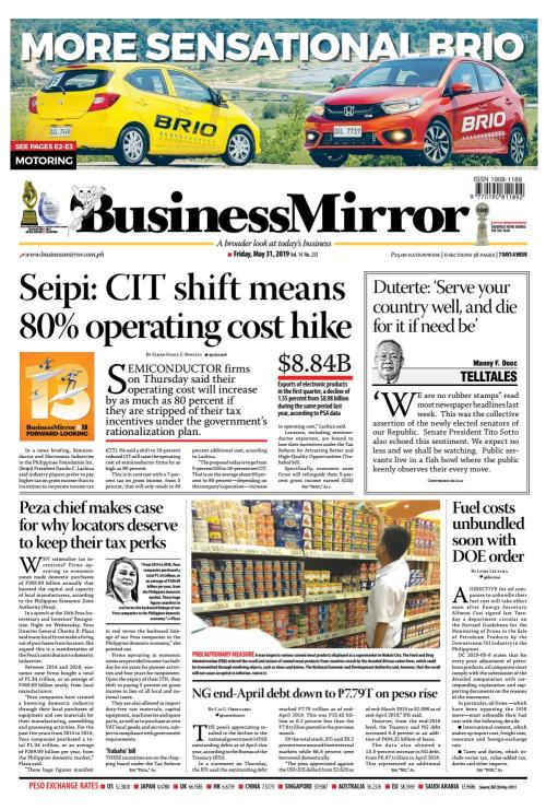 small resolution of businessmirror may 31 2019