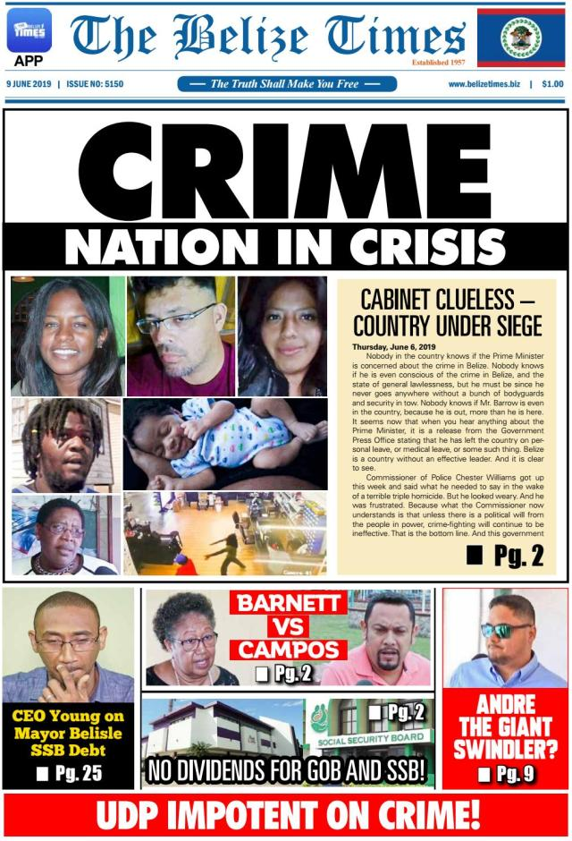 belize times june 9, 2019 by belize times press - issuu