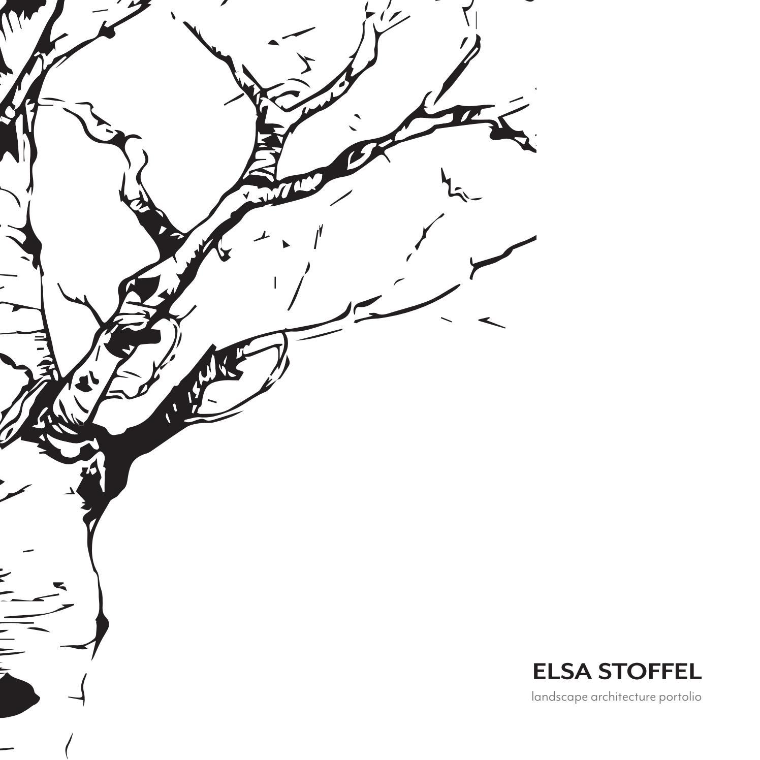Elsa Stoffel Landscape Architecture Portfolio 2019 by Elsa