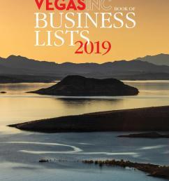 2018 12 16 vegas inc 2019 book of business lists by greenspun media group issuu [ 1152 x 1494 Pixel ]
