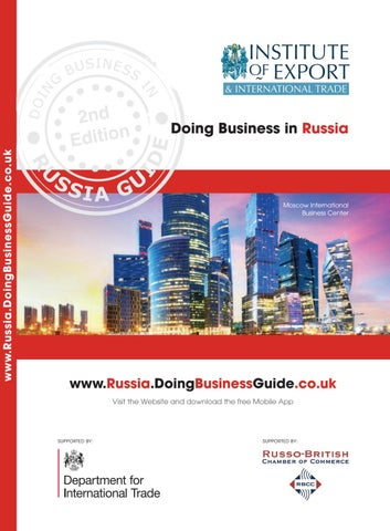 Doing Business In Russia Guide 2nd Edition By Doing