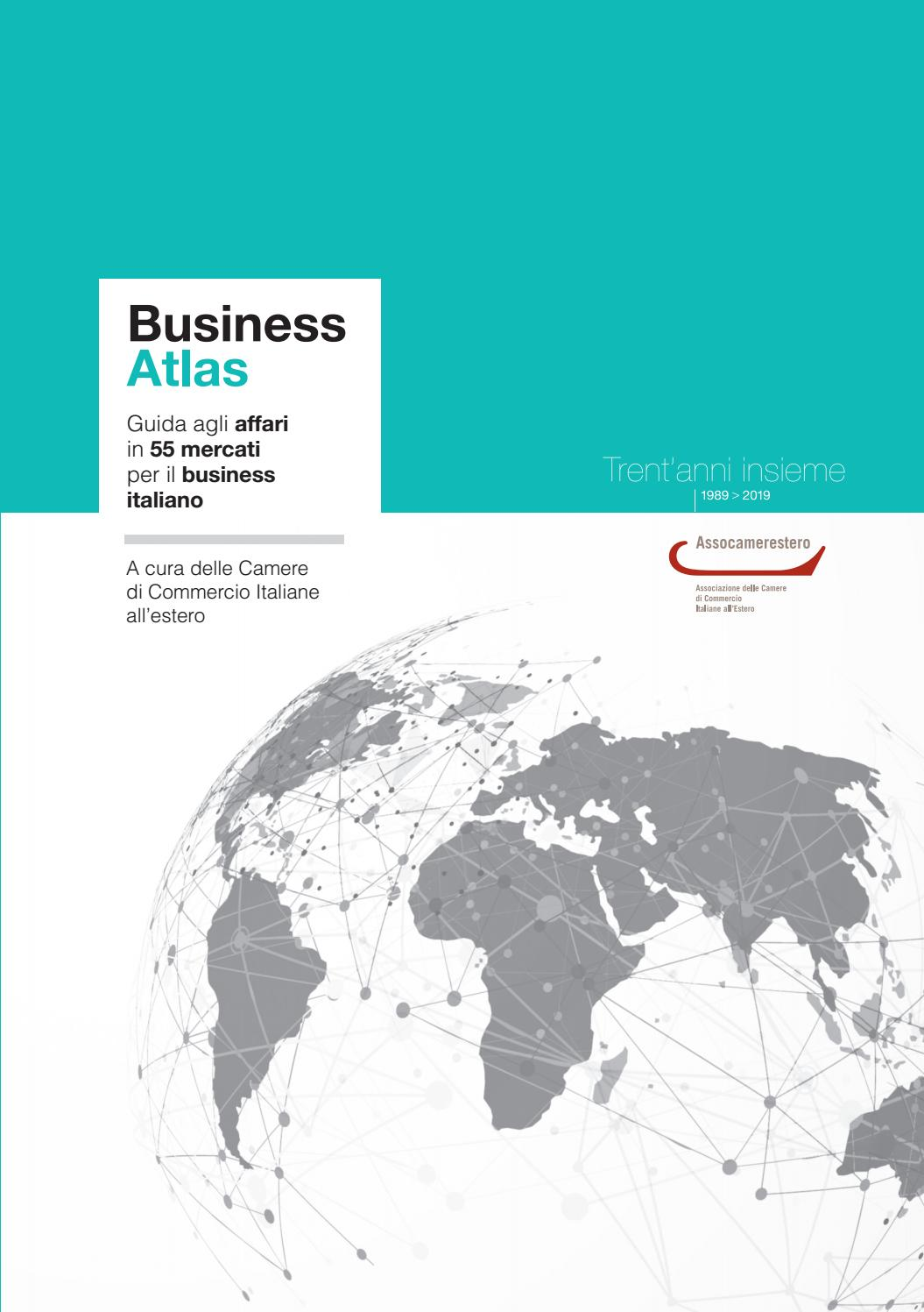 Business Atlas 2019 By Assocamerestero Issuu