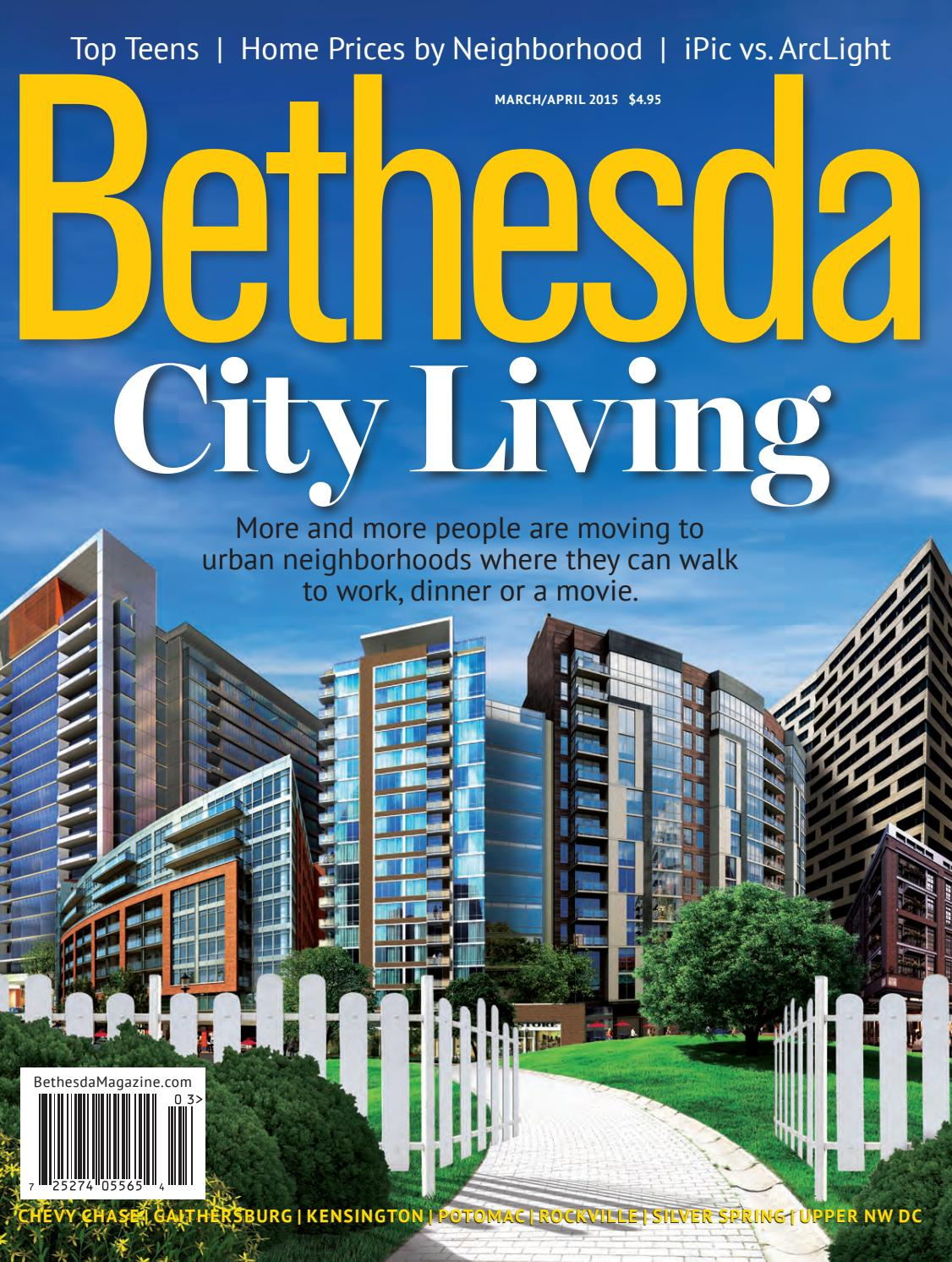 Bethesda Magazine March April 2015 By Bethesda Magazine Issuu