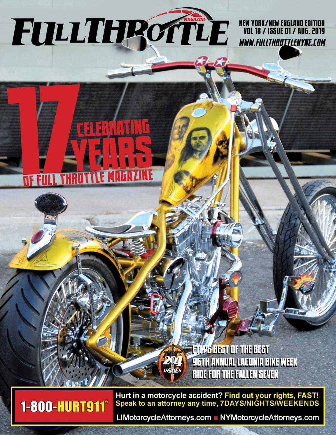 Laconia Bike Week Accidents 2019 : laconia, accidents, Throttle, Magazine, August, Issuu
