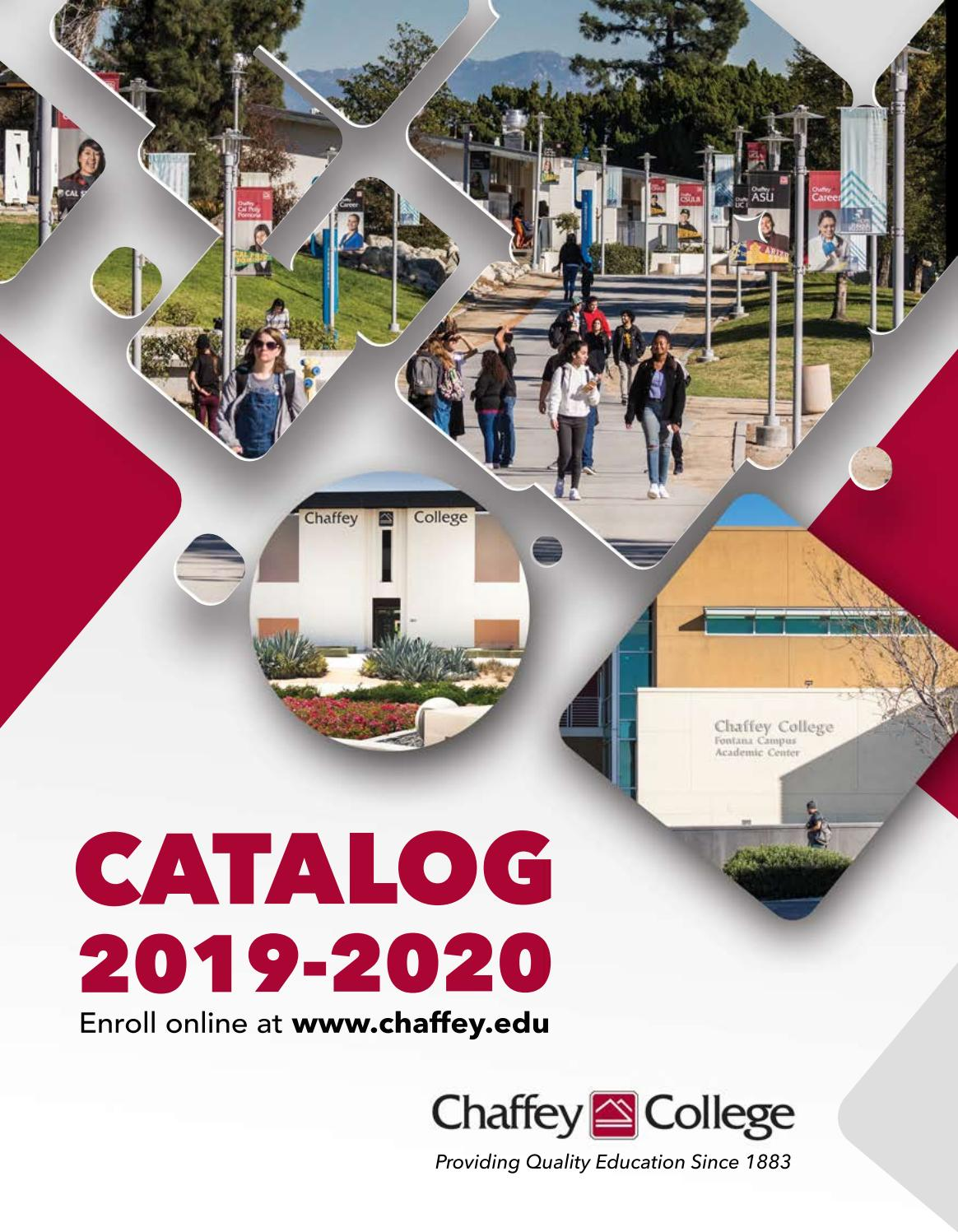 hight resolution of Chaffey College Catalog 2019 - 2020 by Chaffey College - issuu