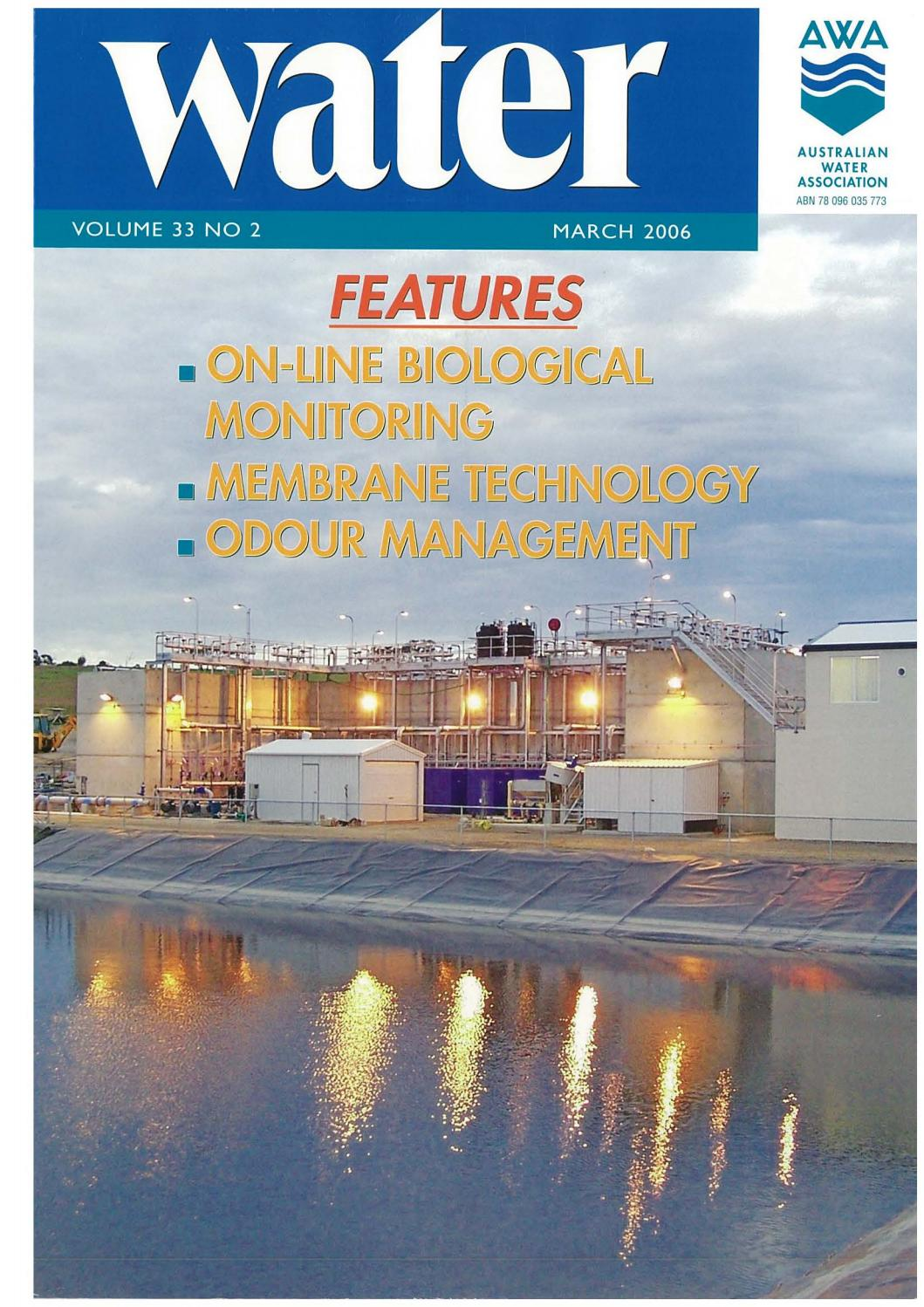 Water Journal March 2006 By Australianwater Issuu