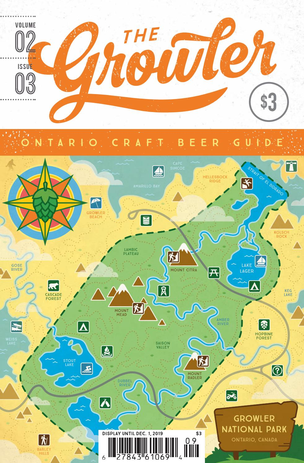 Embruns Du Couchant Wow : embruns, couchant, Growler, Ontario, Volume, Issue, Craft, Guides, Issuu