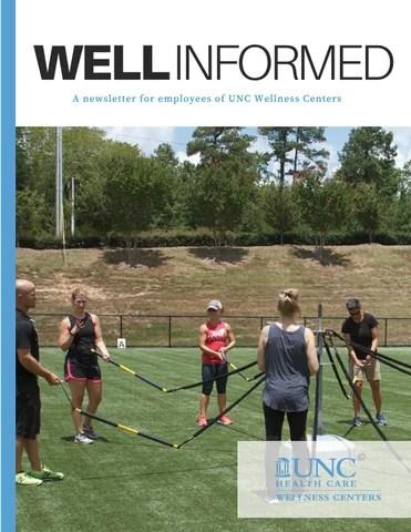 Unc Group Fitness : group, fitness, Informed, September-December, Wellness, Issuu