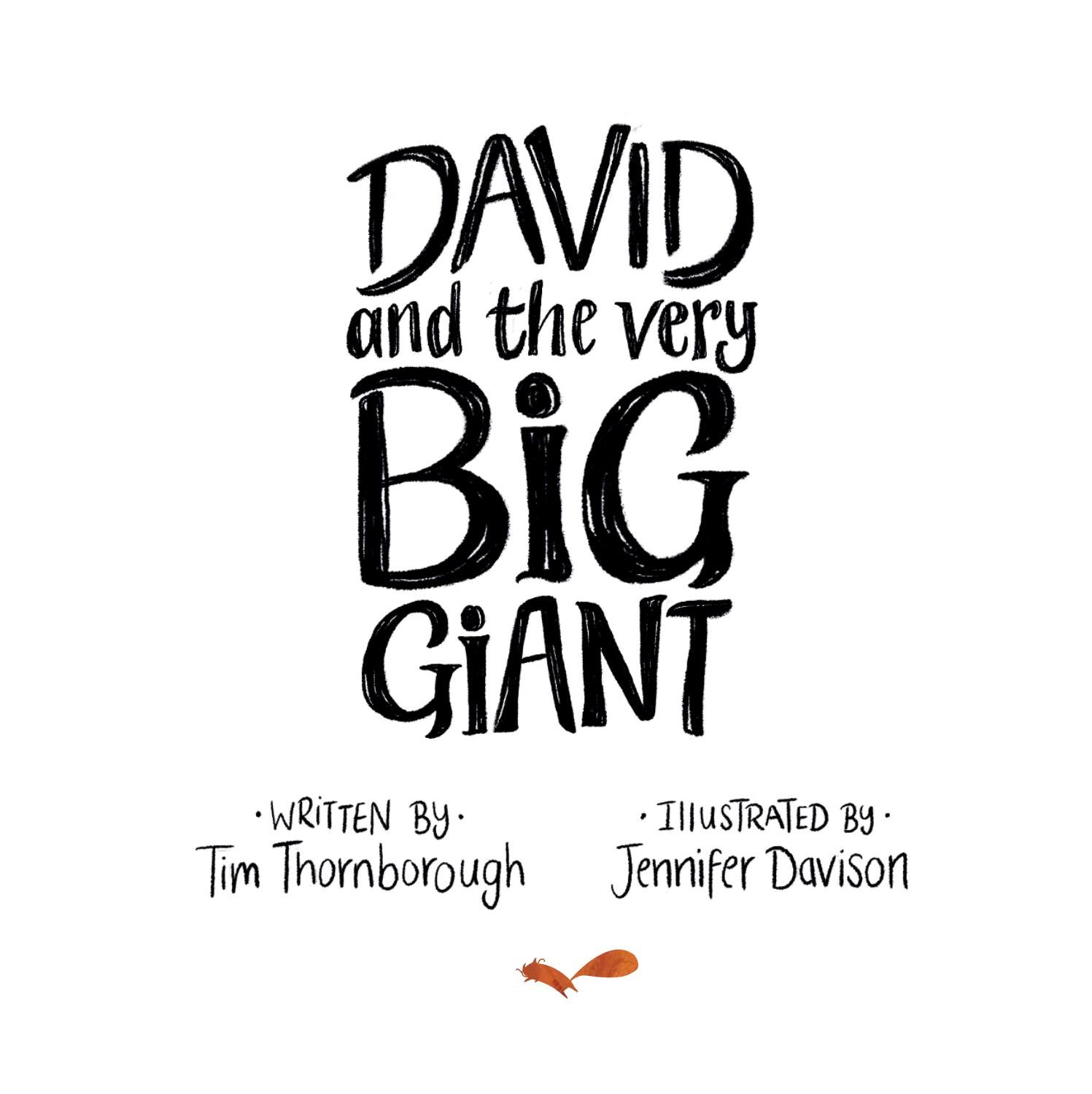Look Inside: David and the Very Big Giant by The Good Book
