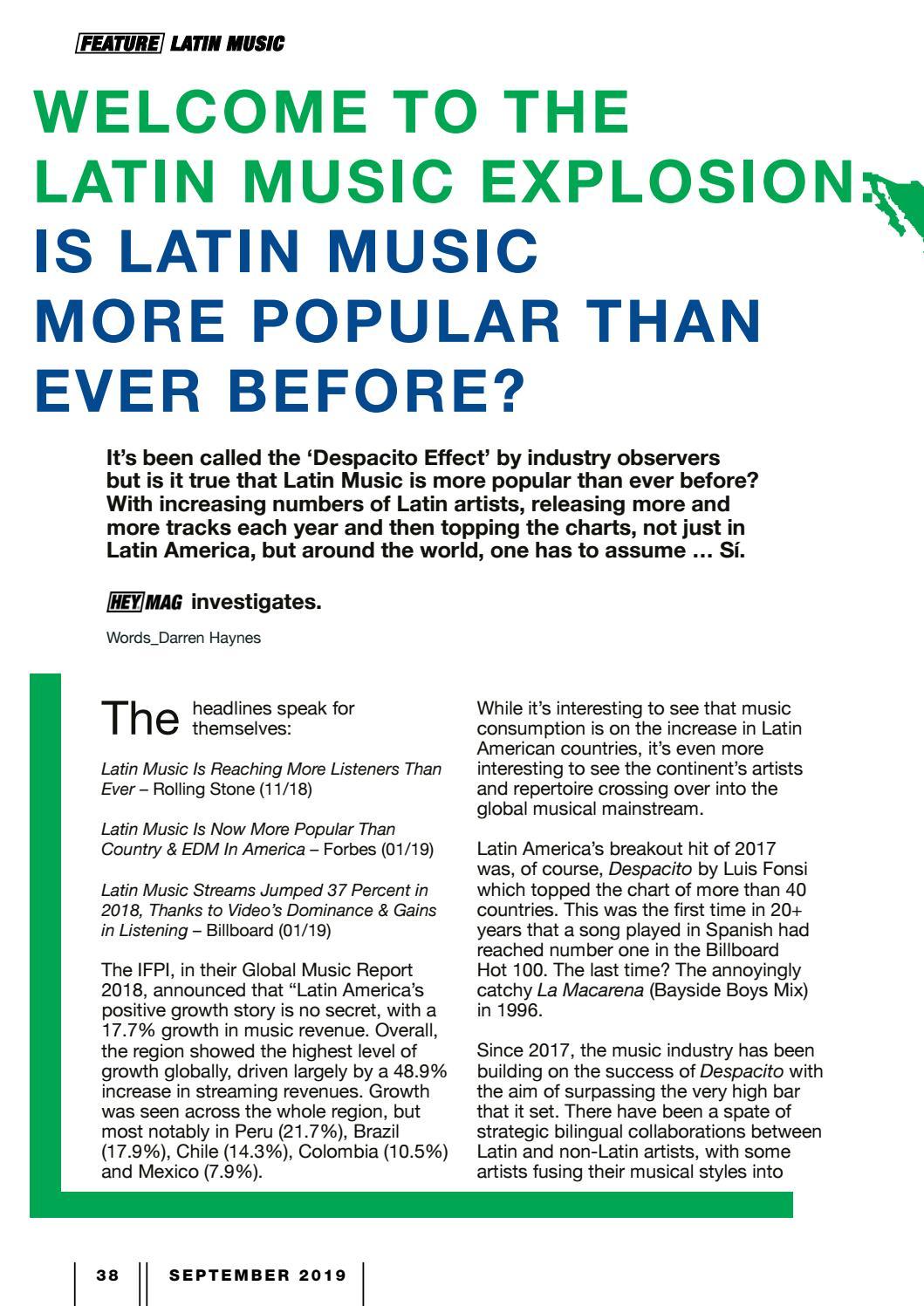 Billboard Latin Music Charts
