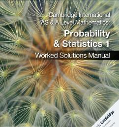 Probability and Statistics 1 sample by Cambridge University Press Education  - issuu [ 1492 x 1146 Pixel ]