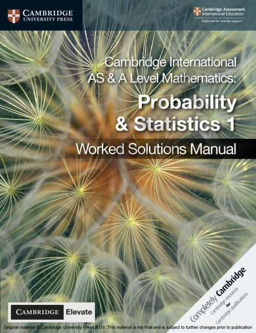 small resolution of Probability and Statistics 1 sample by Cambridge University Press Education  - issuu