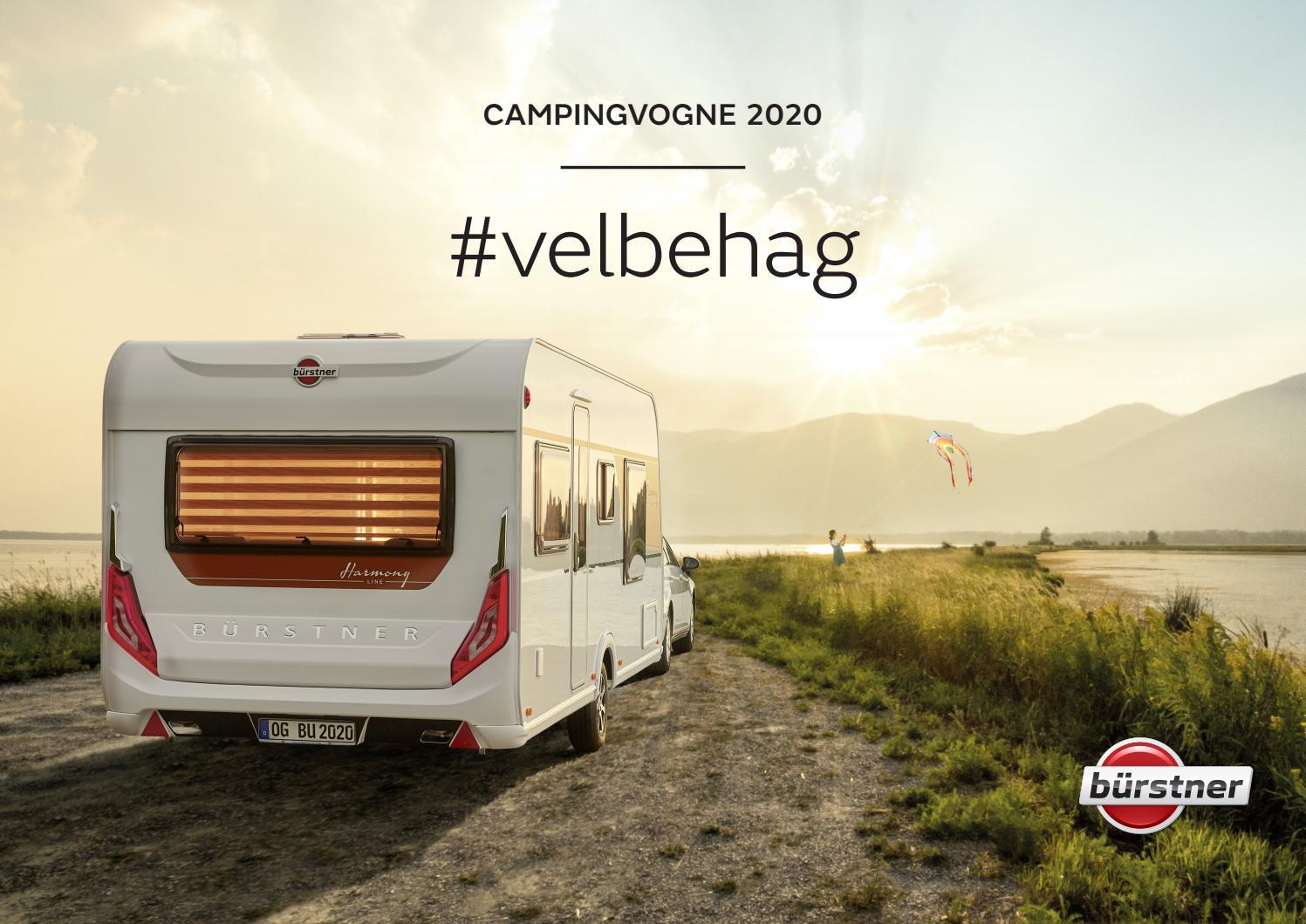 Burstner Caravans 2020 By Intercamp A S Issuu