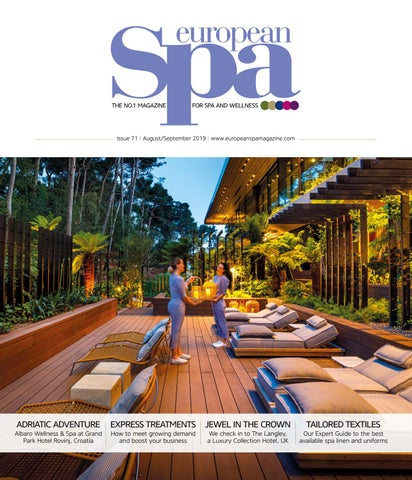 European Spa Magazine Issue 71 By European Spa Magazine Issuu