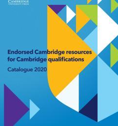 Cambridge Assessment International Education 2020 Catalogue by Cambridge  University Press Education - issuu [ 1497 x 1059 Pixel ]