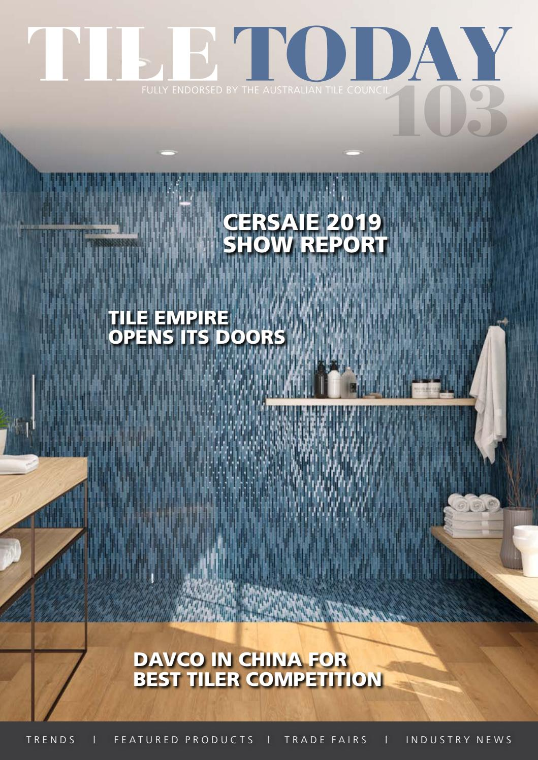 tile today issue 103 dec 2019 by