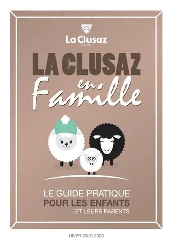 La Clusaz Office Du Tourisme : clusaz, office, tourisme, Clusaz, Famille, Hiver, Office, Tourisme, Issuu