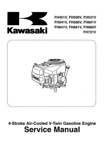 Kawasaki FH531V 4-Stroke Air-Cooled V-Twin Gasoline Engine