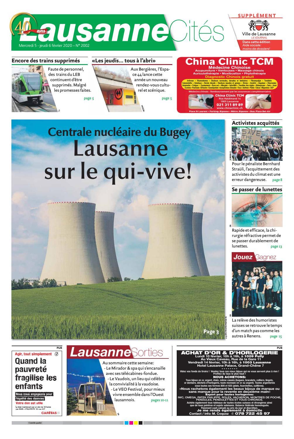Des Trains Pas Comme Les Autres Suisse : trains, comme, autres, suisse, 20200206LC, Lausanne, Cités, Issuu
