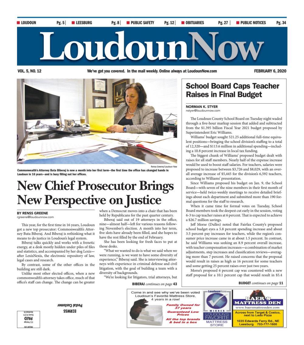 medium resolution of Loudoun Now for Feb. 6