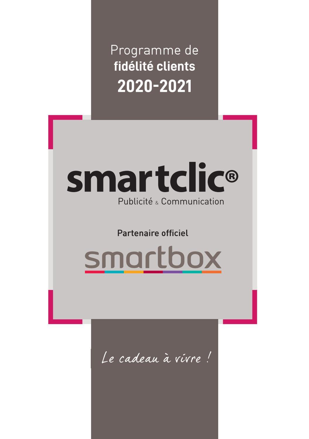 Mille Et Une Nuit De Charme Smartbox : mille, charme, smartbox, Catalogue, Fidélité, Smartbox, 2020-2021, SMART, FRANCE, Issuu