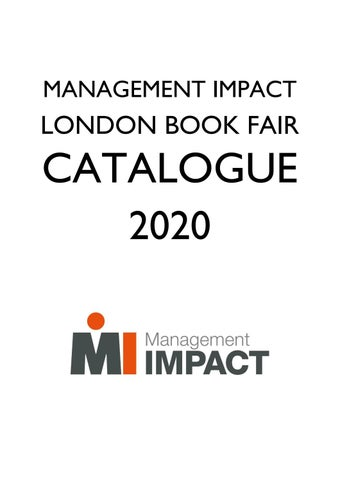 London Book Fair Foreign Rights catalogue 2020 by Laurens