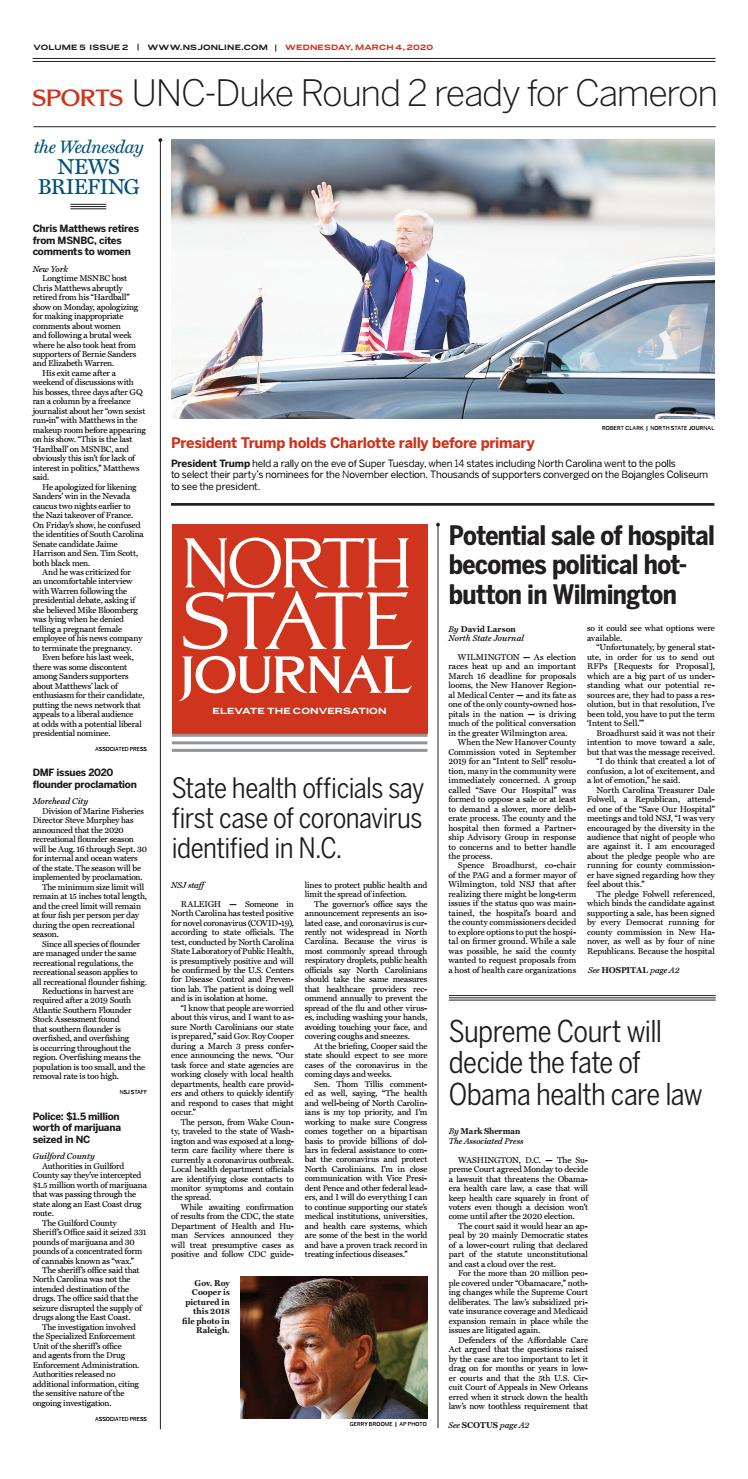 North State Journal Vol 5 Issue 2 By North State Journal Issuu