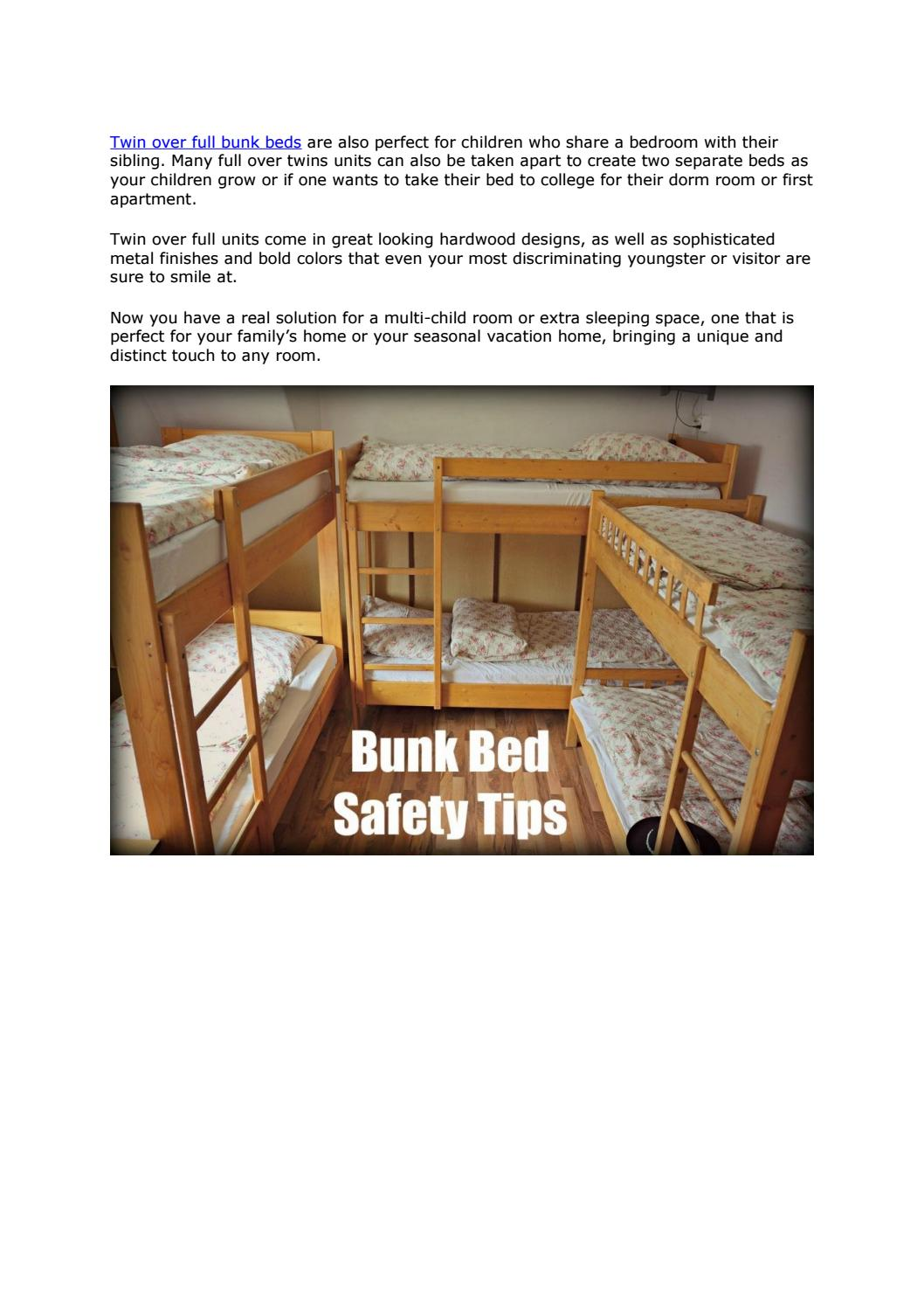 Twin Over Full Bunk Beds Http Lshapedbunkbed Com By L Shaped Bunk Bed With Stairs Issuu