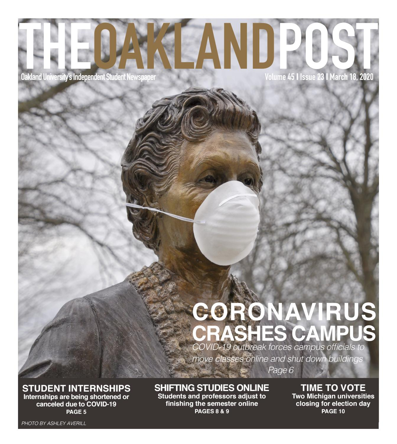 The Oakland Post 3.18.20 by The Oakland Post - issuu