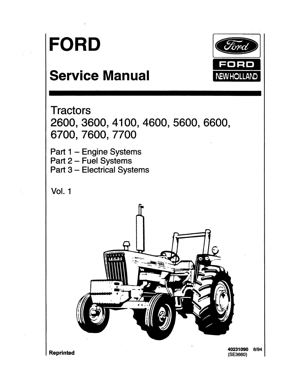 Ford 3600 Manual Free Download Pdf / Ford 3600 Tractor