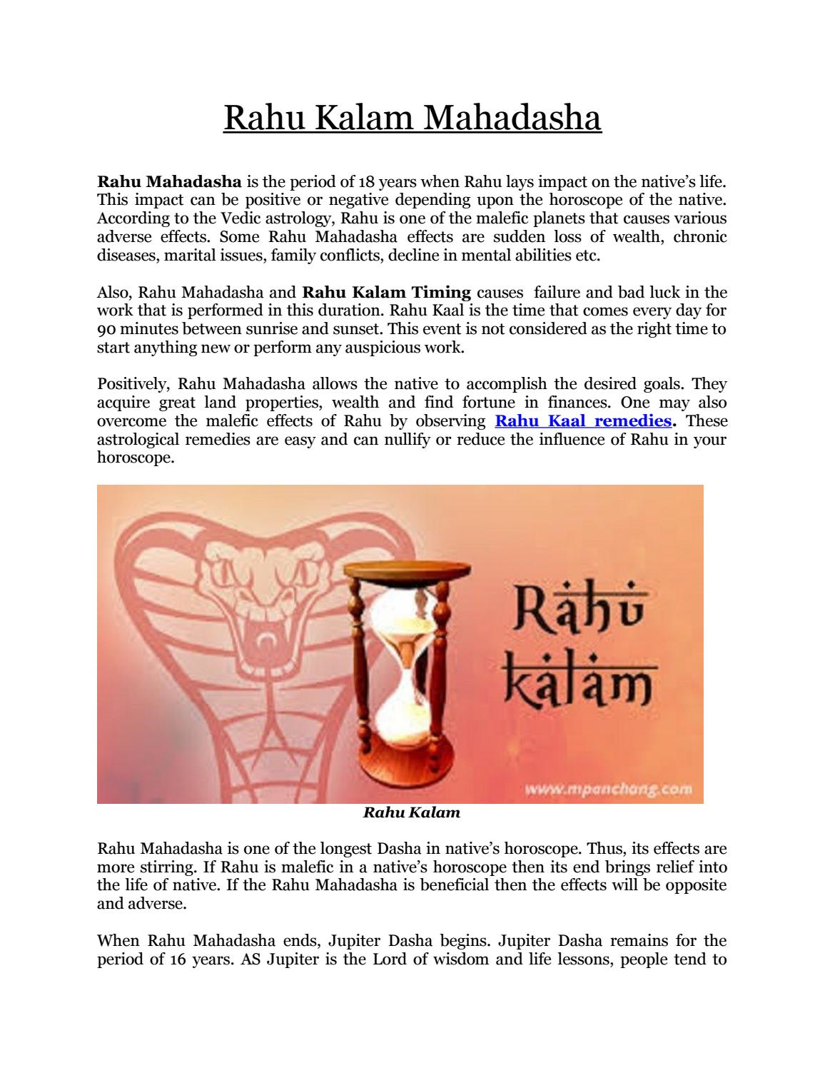 What Is The Pariharam For Baby Born In Rahu Kalam : pariharam, kalam, Today, Kalam, Online, Kundali, Matching, Issuu