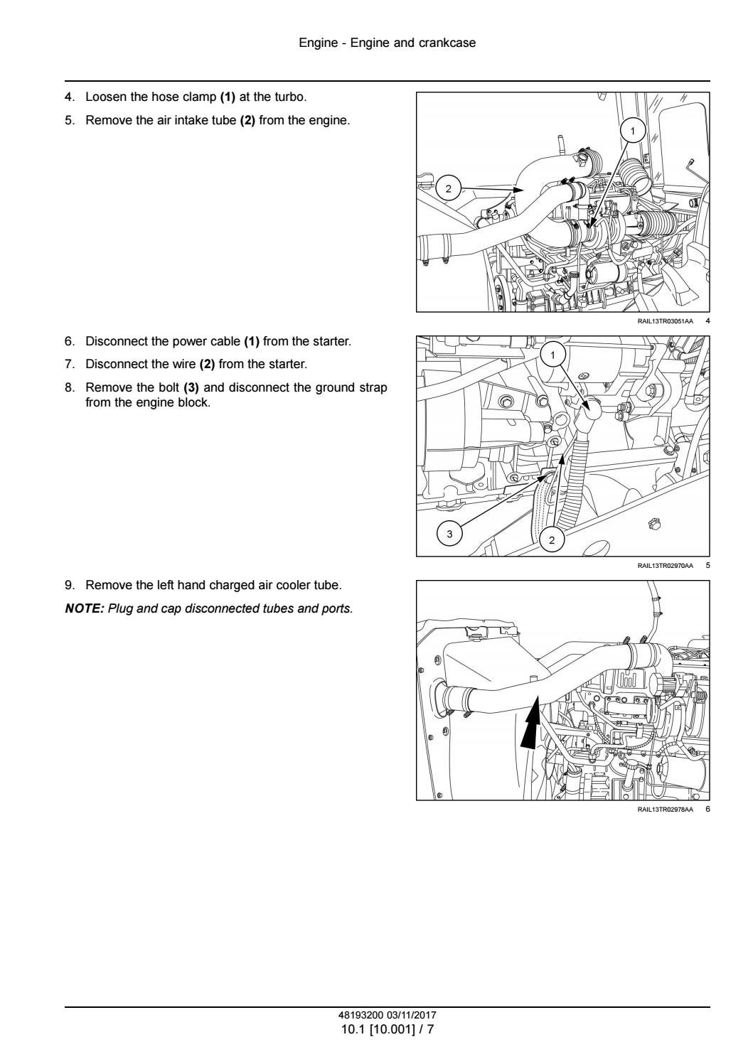 CASE IH Steiger 580 Stage IV Tractor Service Repair Manual