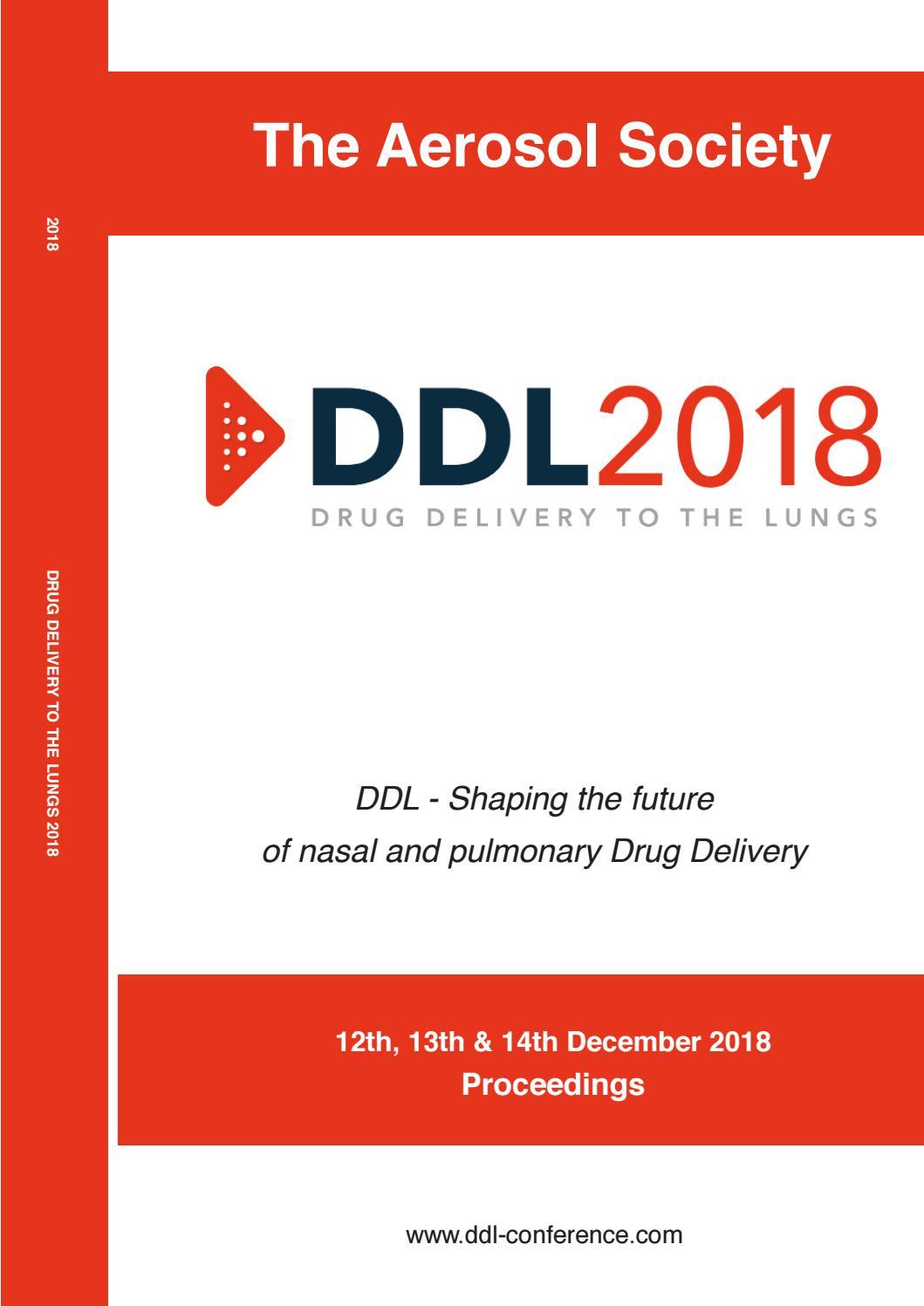 ddl2018 digital proceedings by info ddl