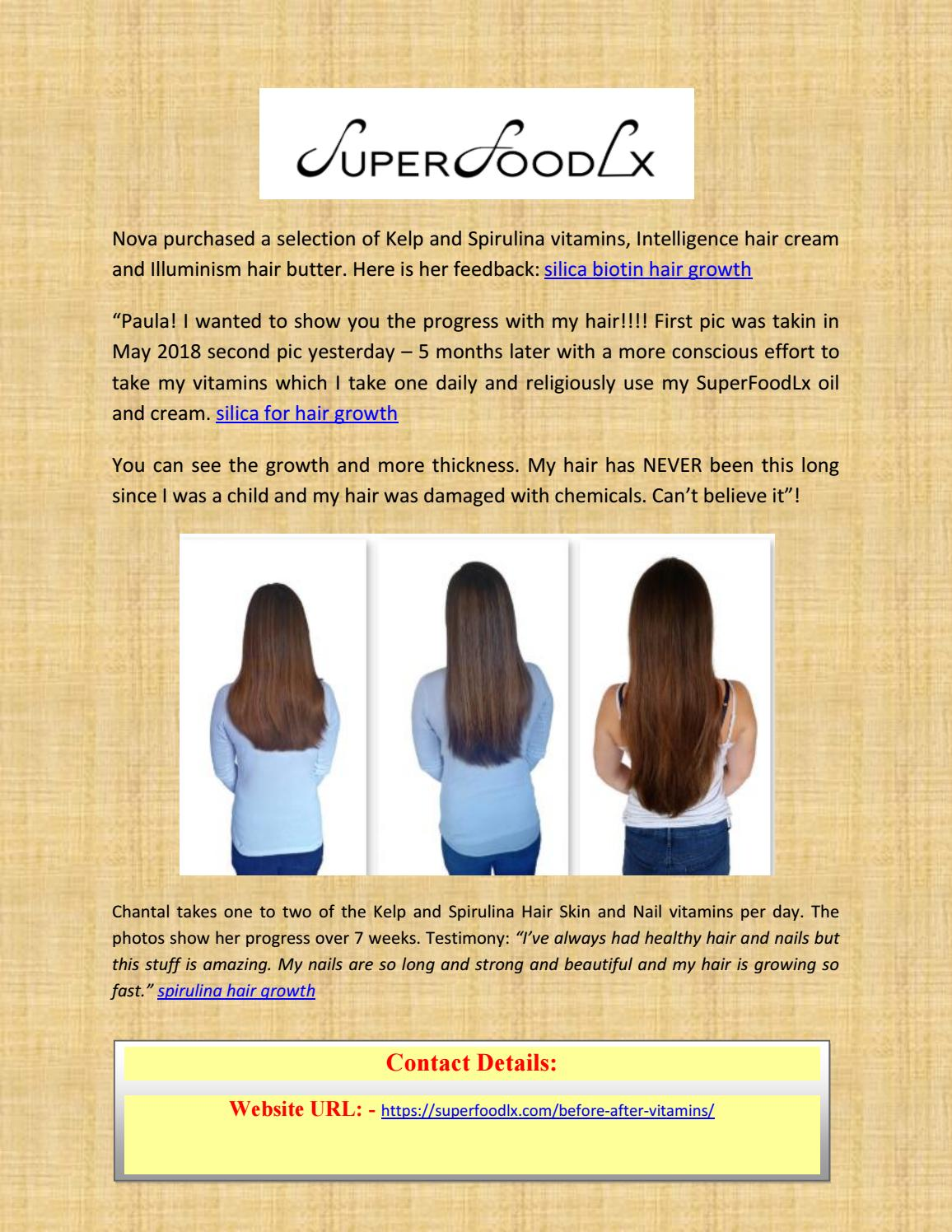 Hair Skin And Nails Vitamins Before And After : nails, vitamins, before, after, Silica, Biotin, Growth, Smith, Issuu