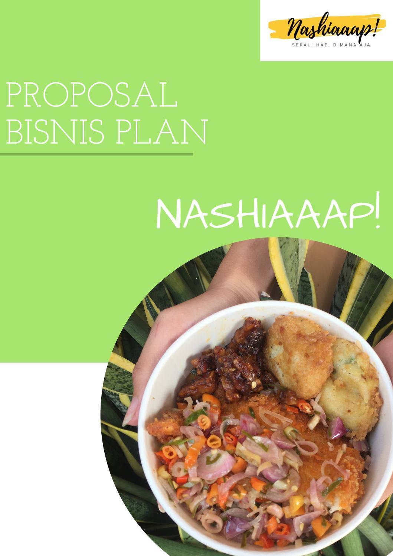Contoh Bisnis Plan Makanan Pdf : contoh, bisnis, makanan, PROPOSAL, BISNIS, NASHIAAAP, Nurkholisah, Issuu