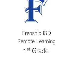 1st Grade Remote Learning May 11-15 by frenshipisd - issuu [ 1489 x 1088 Pixel ]