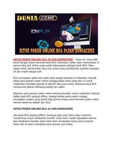 Daftar Jadwal Offline Bank Indonesia Terbaru - BCA BRI BNI
