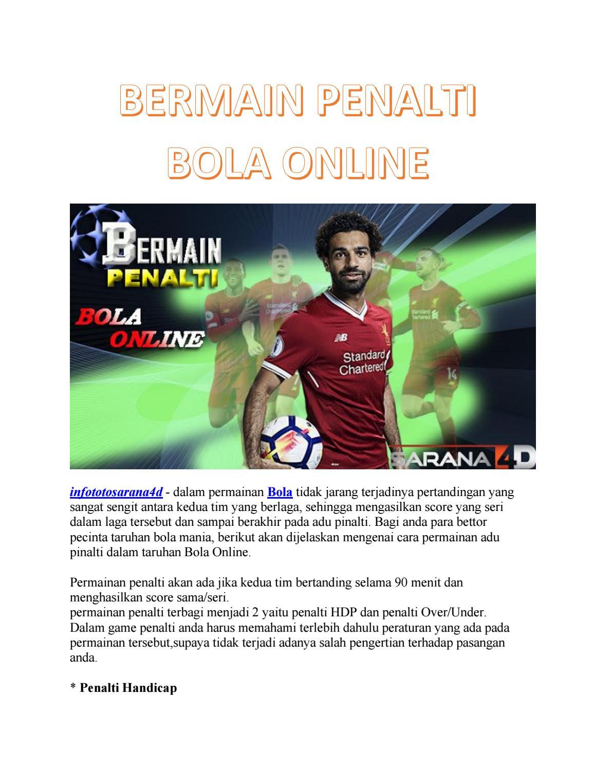 Permainan Adu Penalti : permainan, penalti, BERMAIN, PENALTI, ONLINE, Nurulokt09, Issuu