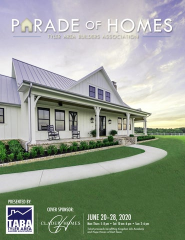 2020 parade of homes magazine by tyler
