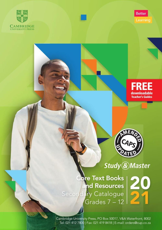 medium resolution of South Africa Secondary Catalogue Grades 7 - 12 by Cambridge University  Press Education - issuu